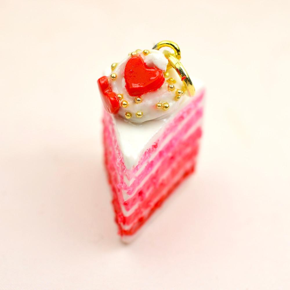Valentine's Cake Charm