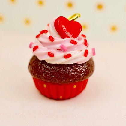 Valentine's Cupcake Charm
