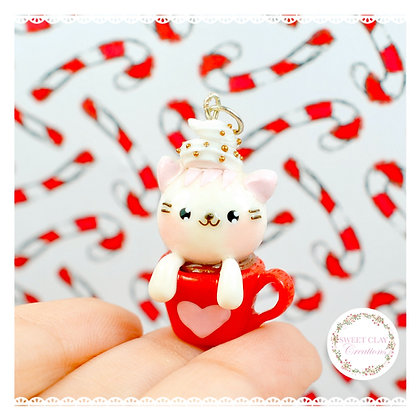 Hot Cocoa Mug Cat Kawaii Charm