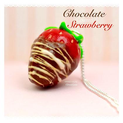 Chocolate Strawberry Charm