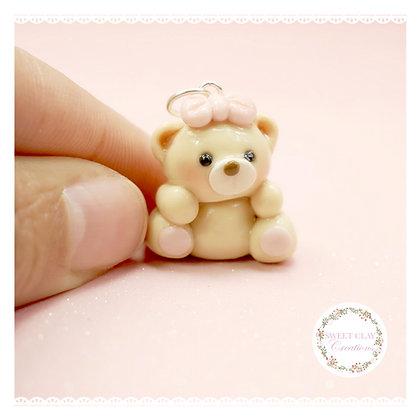 Teddy Bear Kawaii Charm
