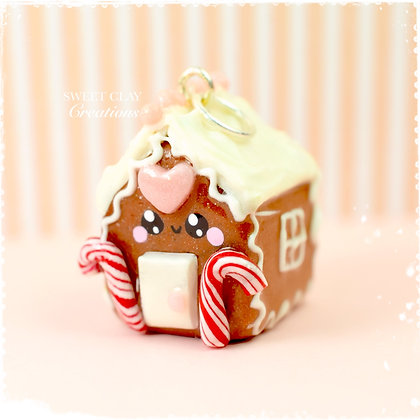 Gingerbread House Kawaii Charm