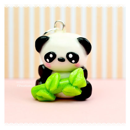 Panda Bamboo Kawaii Charm