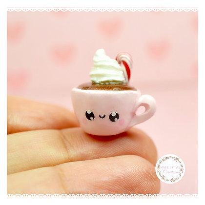Hot Chocolate Mug Kawaii Charm