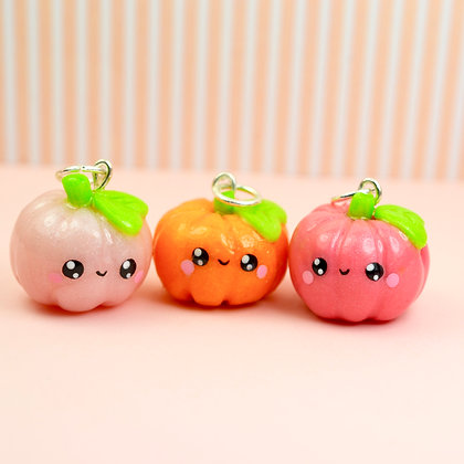 Pumpkin Kawaii Charm