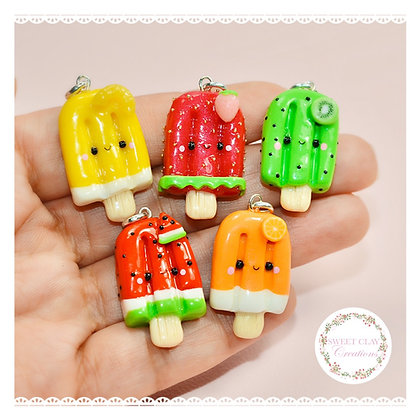 Fruit Kawaii Popsicle