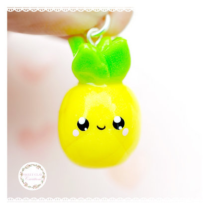 Pineapple Kawaii Charm