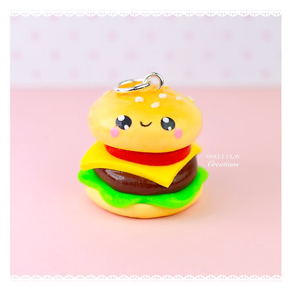 Cheeseburger Kawaii Charm