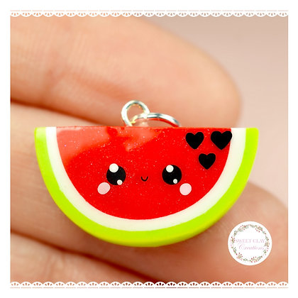 Watermelon Kawaii Charm