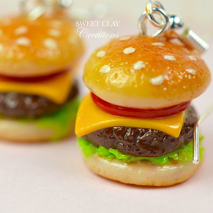 Cheeseburgers Earrings