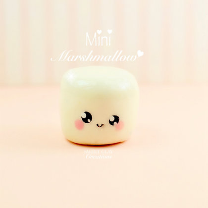 Marshmallow Kawaii Charm
