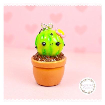 Mini Succulent Kawaii Keychain