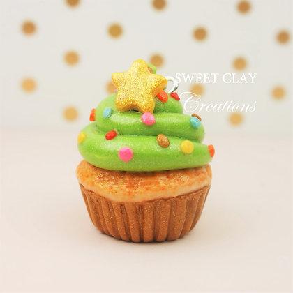 Christmas Tree Cupcake Charm