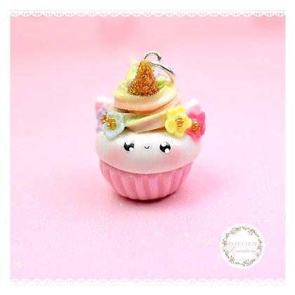 Unicorn Cupcake Kawaii Charm