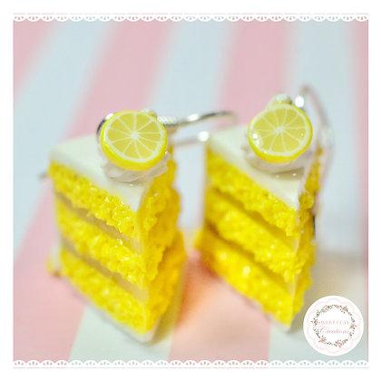 Lemon Cake Earrings