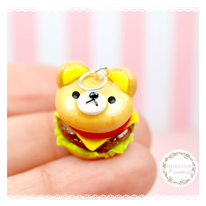 Rilakkuma Cheeseburger Charm