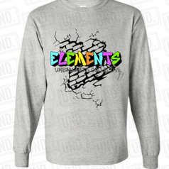 Grey w: colored logo Long Sleeve.png