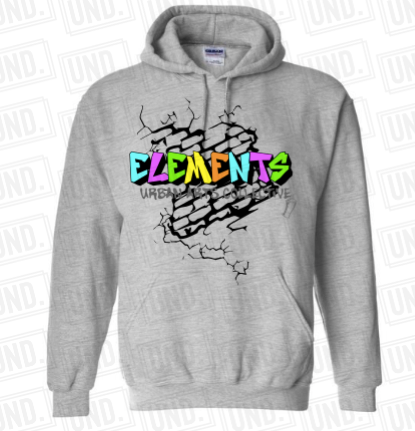 Grey w: Color Logo Hoodie Front.png