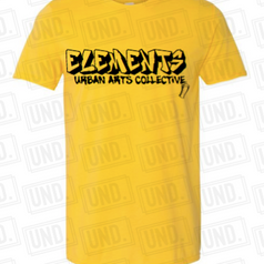 Yellow w: Black Logo Tee Front.png