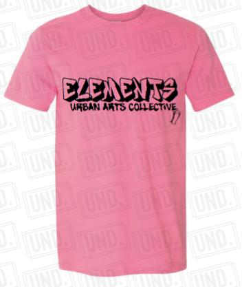 Pink w: Black Logo Tee Front.png