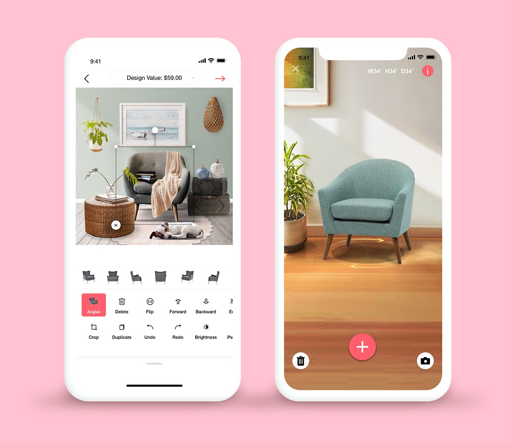 free home decor app decormatters