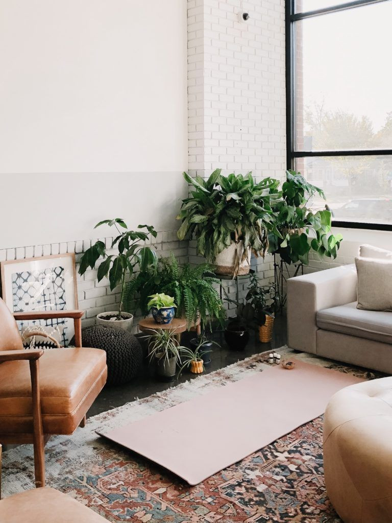 meditation and tranquil area corner in your apartment