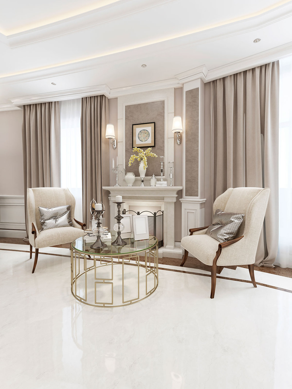 Decorating On A Budget Glam Home Decor Ideas