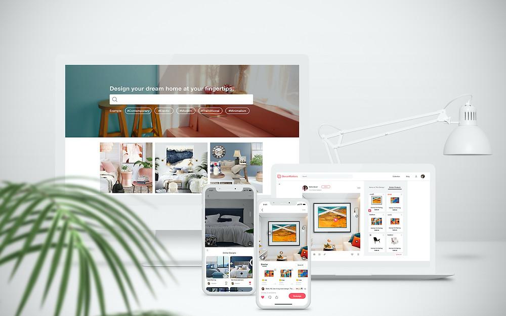 the future of AI and interior design tech company