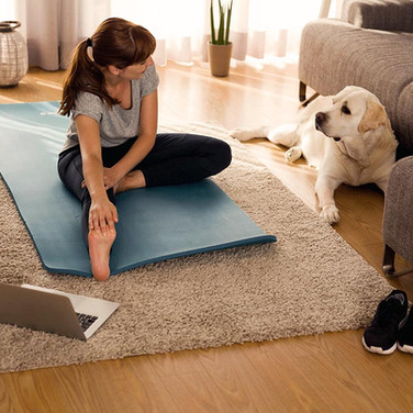 How to Style Your Home Gym or Yoga Studio