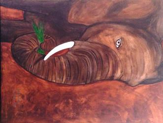 Rusty the Elephant