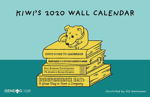 Kiwi's 2020 Wall Calendar - Print Edition