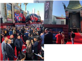 Spider man Premier in Hollywood.プレミア撮影 スパイダーマン2