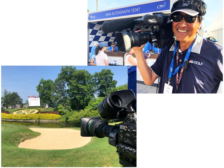 スポース取材 全米女子プロゴルフ