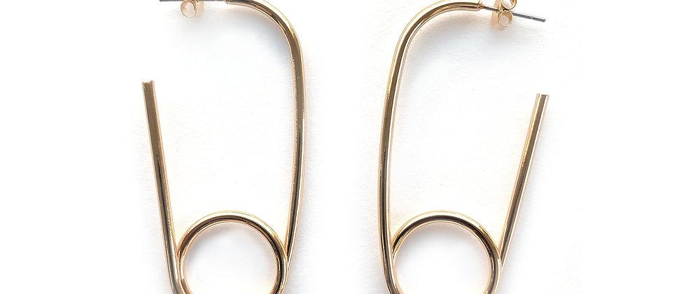 HAC  Gold Earrings