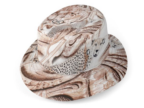 #endlessChic Animalier reversible Bucket Hat