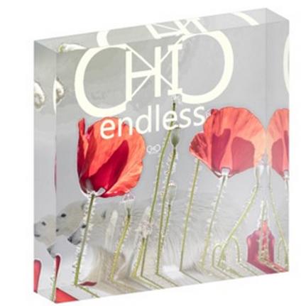 #endlessChic Imagine in Square Acrylic Block