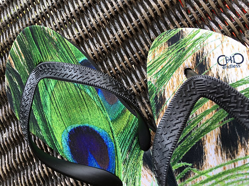#endlessChiC Flip Flops/ Animalier beach shoes