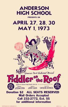1973 Fiddler on the Roor