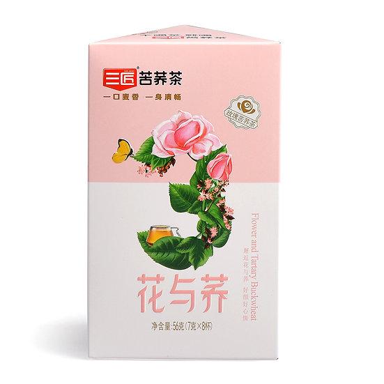 四川凉山 - 三匠玫瑰苦荞茶