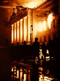 Tartu ülikooli peahoone tulekahju