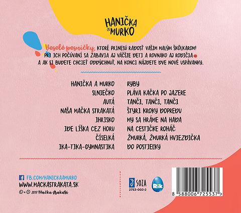 CD Pesničky pre škôlkarov