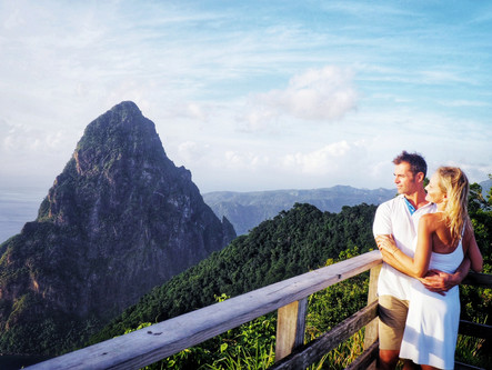 Crickets, Pitons, Chocolate and other St. Lucia Adventures