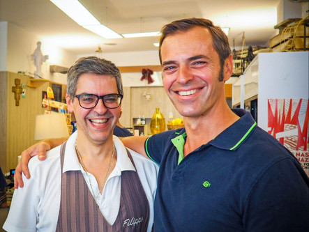 """My Brother Owns the Best Bakery in Florence, Italy - """"Antica Bottega del Pane"""""""