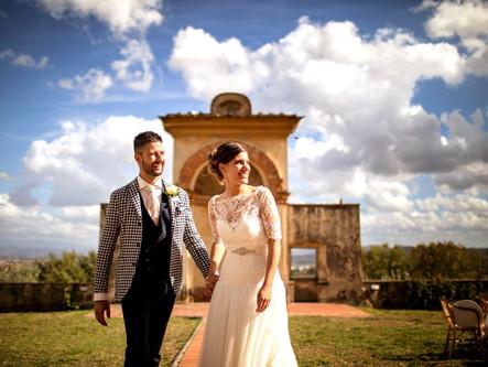 Big, Fun, Tuscan Wedding