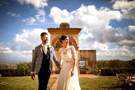 Big, Fun, Tuscan Wedding