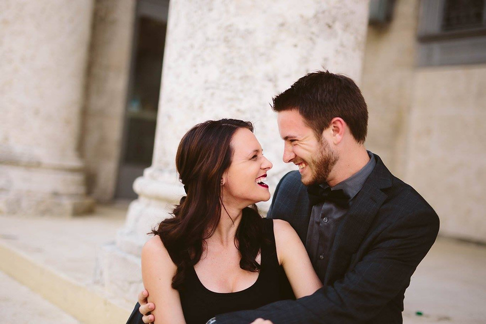 Engagement photography. Happy Couple. Man and woman