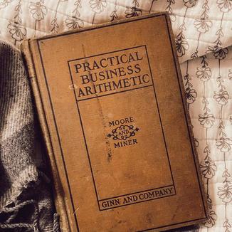 Antique Textbook