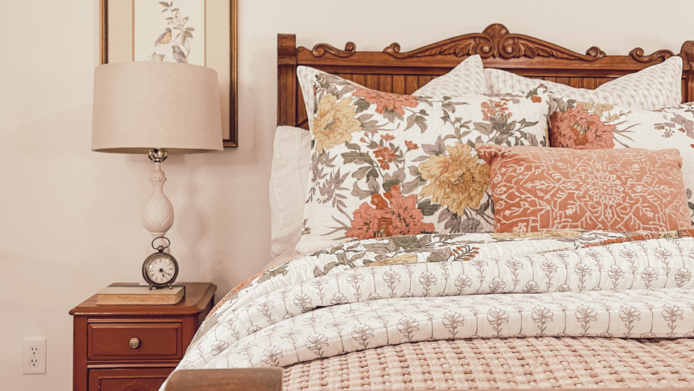 Bedroom Makeover: New Bedding