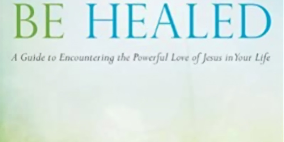 Be Healed Book Study