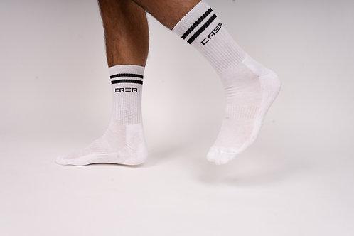 """CASA """"Classic"""" Socken White (2er / 4er Pack)"""
